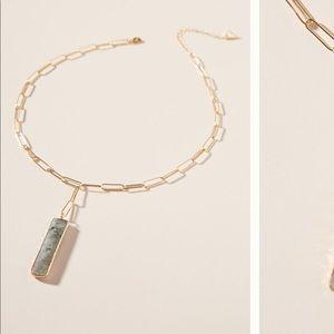 ANTHROPOLOGIE Caroline Pendant Necklace